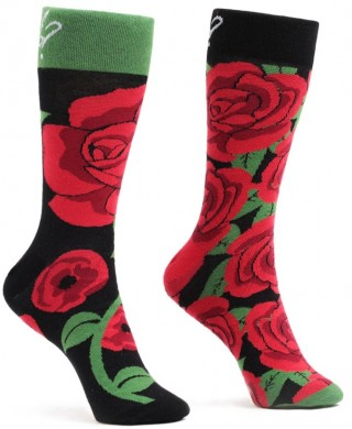 Skarpetki kolorowe WannaBreak Róża - Roża