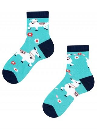 Alpaka Kids, Todo Socks, Lama, Kolorowe Skarpetki Dziecięce  - Alpaka Kids