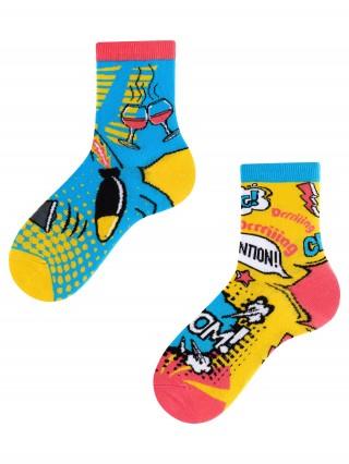 Boom Boom Kids, Todo Socks, Bomba, Wybuch, Kolorowe Skarpetki Dziecięce  - Bomb Kids