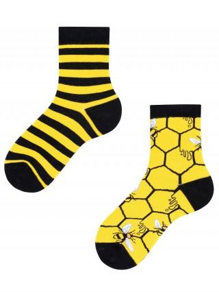 Bee Bee Kids, Todo Socks, Pszczoły, Miód, Kolorowe Dziecięce  - różnokolorowe