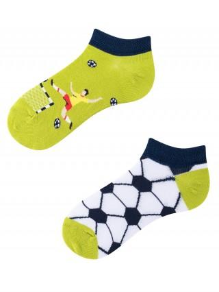 Stopki, Football Time Kids Low, Todo Socks, Piłka nożna, Kolorowe Dziecięce  - Football Time Kids Low