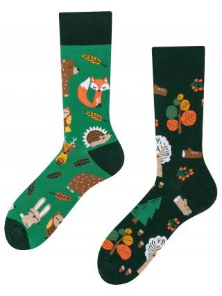 Forest Animals, Todo Socks, Leśne zwierzaki, Kolorowe Skarpetki - Forest Animals