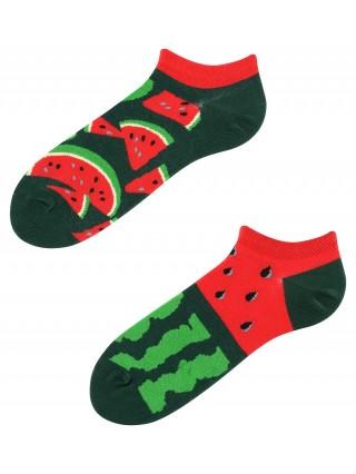 Stopki, Juicy Watermelon Low, Todo Socks, Arbuz, Owoc, Kolorowe  - Juicy Watermelon Low