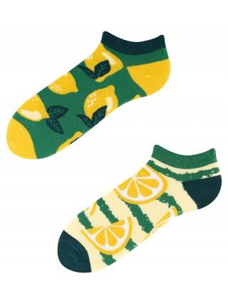 Stopki, Lemon, Todo Socks, Cytryny, Owoce, Limonki, Kolorowe  - Lemon Low