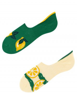 Mikrostopki, Lemon, Todo Socks, Cytryny, Owoce, Limonki, Kolorowe stopki - Lemon Super Low