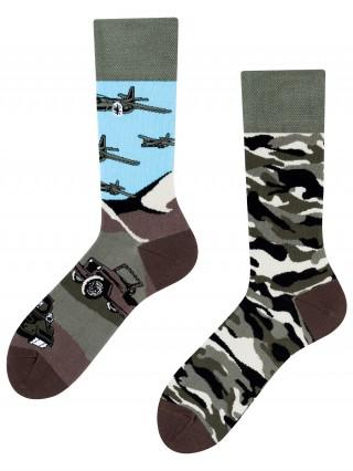 Land of Tanks, Todo Socks, Czołgi, Militaria, Kolorowe Skarpety - Land of Tanks