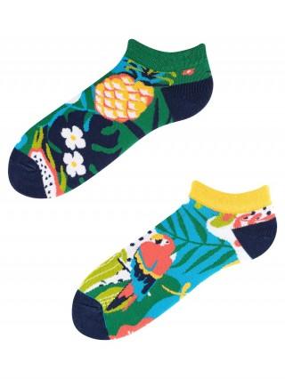 Stopki, Papaya Low, Todo Socks, Papuga, Ananas, Liczi, Kolorowe  - Papaya Low