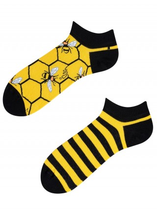Stopki, Bee Bee Low, Todo Socks, Pszczoły, Kolorowe - różnokolorowe