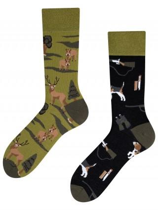 Hunting, Todo Socks, Myśliwy, Dzik, Jeleń, Kolorowe Skarpetki  - Hunting
