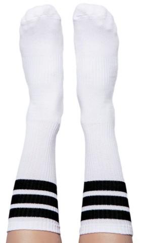 Skarpety TODO STREETWEAR Vintage Socks uniwersalne, 80% Bawełna - czarny