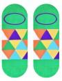 Stopki kolorowe More MOSAIC - kolorowe trójkąty - 2 warianty - zielony