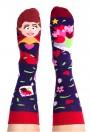 Skarpety kolorowe z serii Happy Friends Super Woman - Super Women